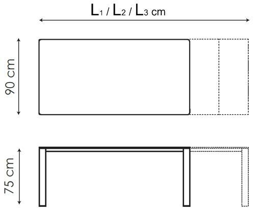 Menu Bonaldo Tisch