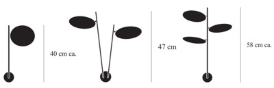 Bemassung-Lederam-WP1-W2-W3-Catellani-Smith-Wandleuchte-lights4life