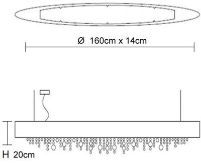 Bemassung-Ola-S6-OV-160-Pendelleuchte-Masiero