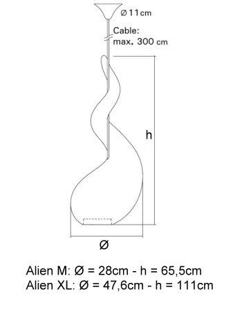 Alien M Pendel