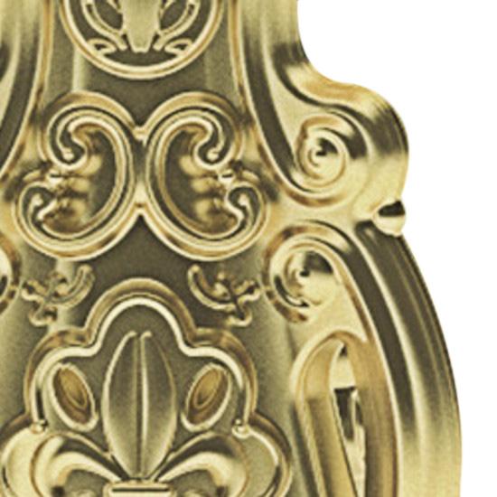 gold, glänzend lackiert