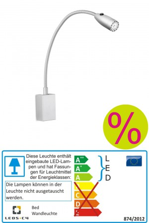 Bed LED - LEDS C4 - Wandleuchte