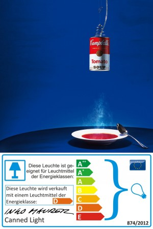 Canned Light - Ingo Maurer - Pendelleuchte