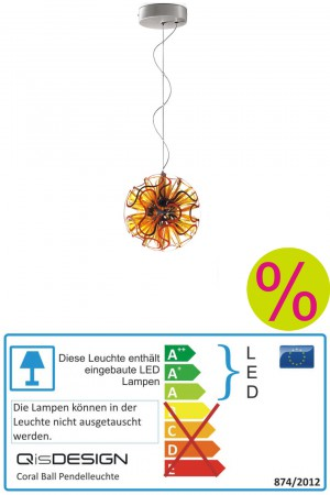 Coral Ball LED Pendelleuchte QisDESIGN