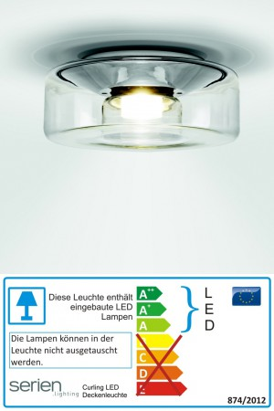 Curling LED Medium - Serien Lighting - Deckenleuchte
