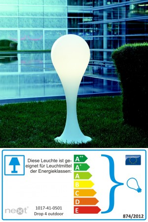 Drop 4 Outdoor - Next - Stehlampe