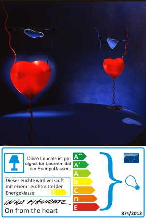 One From The Heart - Ingo Maurer - Tischleuchte