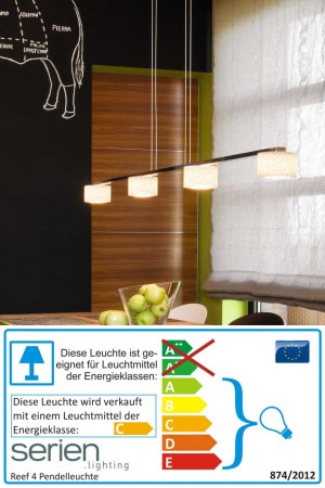 Reef 4 - Serien Lighting - Pendelleuchte