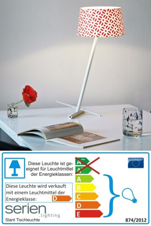 Slant - Serien Lighting - Tischlampe