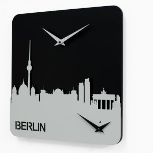 Progetti - Time Travel Berlin - Wanduhr