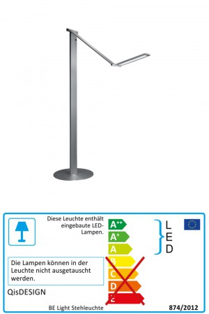 BE Light - QisDesign - LED-Stehlampe