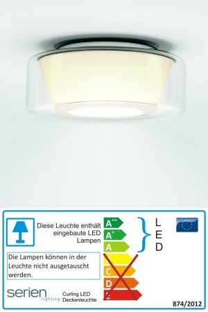 Curling LED Small - Serien Lighting - Deckenleuchte